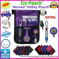 Quality Pink Purple Ezy-Pouch® NURSE Vet POUCH BAG POCKET Pick Bonus Pack