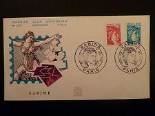FRANCE PREMIER JOUR FDC YVERT 1975/78    SABINE    1,70+2,10F  PARIS  1978