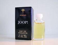 Joop! Femme 3,5 ml Eau de Toilette Miniatur Neu OVP