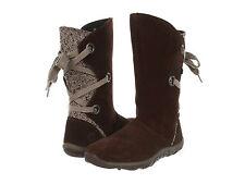 NIB Merrell Kids Jungle Moc Lace Boot Boots Size 13 Espresso Brown Lace Back $75