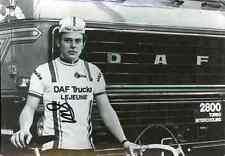 ETIENNE VANDERSNICKT DAF Lejeune Trucks Signed Autographe cycling Signé cyclisme