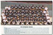 1978 Pittsburgh Steelers Vintage Team Photo/Poster (comes in 3 sizes)