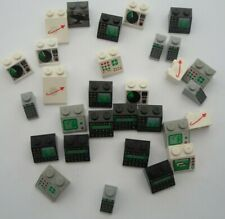 NICE LOT LEGO  VINTAGE SPACE BRICKS  - WITH DESIGNS