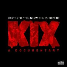 KIX: Cant Stop the Show: The Return of KIX (DVD, 2016, CD/DVD)
