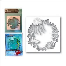 Underwater Sealife metal die - Memory Box cutting dies 99959 octopus fish frame