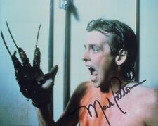 NIGHTMARE ON ELM STREET horror movie photo signed by Mark Patton