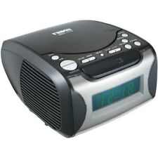 NAXA Electronics NRC-175 Digital Alarm Clock Tuning AM/FM Radio and CD Player -