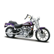 1:18 Collectible Motorcycle Model Harley-Davidson 2001 FXSTS SPRINGER SOFTAIL