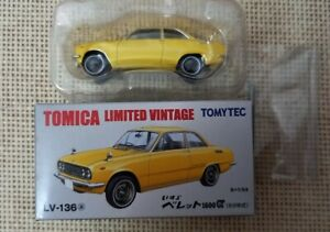 Tomica Limited Vintage Tomytec Isuzu Bellett1600GT LV-137a Year 2013 with Box