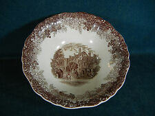"""J and G Meakin Warwick Romantic England 8 3/8"""" Round Serving Bowl"""