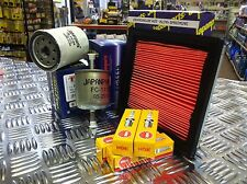 FOR NISSAN NOTE 1.4 SERVICE KIT AIR FUEL OIL FILTER NGK SPARK PLUGS1