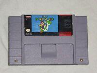 Super Mario World 1 Super Nintendo Game SNES Authentic Game Works Great - READ