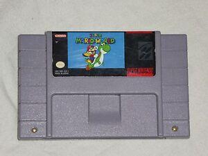 Super Mario World  SNES Super Nintendo US Version