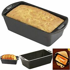 Loaf Pan For Bread Baking French Bakeware Cast Iron Mini Chef Pampered