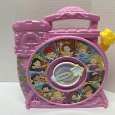 Little People Disney Princess See N Say Pink Talking Mattel Spin Carry Along