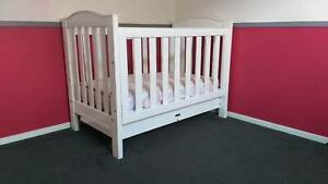 Love & Care Cot, Inner spring mattress, Change table.