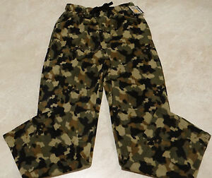 Mens Regular & Plus Size Fleece Pajama/Lounge Pants-NWT