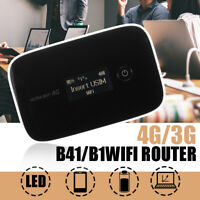 4G LTE LCD WIFI Wireless Router Mobile Modem 150Mbps Hotspot Sim Card Unlocked