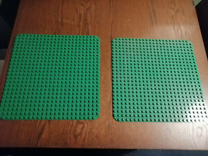 2915 Lego Platte 8x8 lime Hellgrün 2 Stück