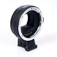 Commlite CM-EF-NEX B  Adapter - Canon EF / EF-S Objektive an Sony E-Mount Kamera