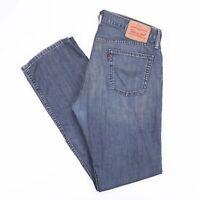 Vintage LEVI'S 514 Straight Fit Men's Blue Jeans W34 L34