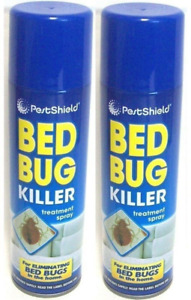 Bed Bug Killer Spray Insect Carpet Mattress Treatment Eliminate Bugs 200ml 2Cans