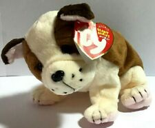 Huggins the Dog by ty Beanie Babies Valentine LOVE Gift 3-15