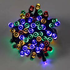 50 x Multicoloured Battery Powered LED Indoor String Lights Colourful Cool New