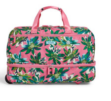 Vera Bradley Lighten Up Wheeled Carry On - Tropical Paradise