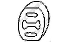 BOSAL Almohadilla de tope, silenciador SEAT IBIZA MARBELLA FIAT LANCIA 255-854