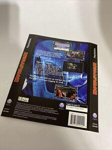 Novastorm PS1 Back Art PlayStation
