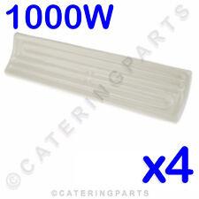 Paquete 4x 1000w 1kw Cerámica Porcelana Elemento Calentador Calefactado Comida