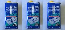Set of 3 ATE DOT 4 TYP 200 – Brake Fluid (High Boiling Point) - 706202
