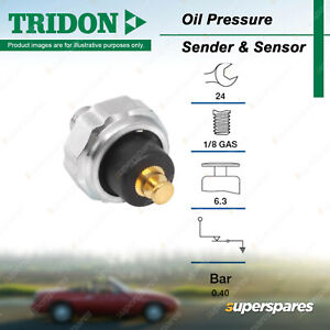 Tridon Oil Pressure Light Switch for Holden Gemini Jackaroo Nova Rodeo KB TF