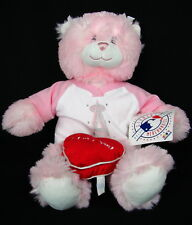 Build a Bear Workshop Babw Pink Plush Teddy Bear Mlb Angels Baseball Outfit Tag