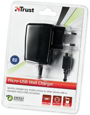 MAINS CHARGER FOR MOBILE PHONES & MICRO USB SOCKET CHARGED DEVICES, 2YR WARRANTY