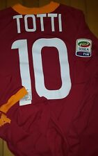 MAGLIA ROMA TOTTI jersey issued match worn made in ALBANIA SERIE A 2011 2012 L