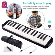 More details for 32 keys melodica piano pianica blowpipe tube with mouthpiece & hose & bag