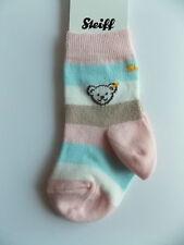Steiff  Baby Socke / Söckchen JONA  gr. 62 - 68 gestreift rosa / blau