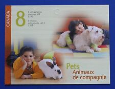CANADA (#2057-2060) 2004 Pets MNH booklet