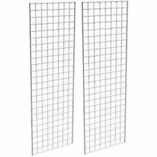 Only Hangers Commercial Grid Panels 2 X 6 White Pack Of 2