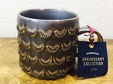 New NWT Starbucks 2015 Anniversary Collection Mug Cup Siren Mermaid Scales