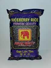 Riceberry Rice, Purple rice. 5lbs. **FAST FREE SHIPPING**