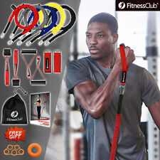 14 Resistance Band Set Full Body Workout ABS Exercise Gym Home Fitness Artifact