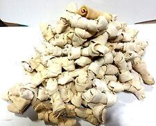"Buffalo Rawhide 4-5"" Mini Bones  | 10lbs | 100% Natural Dog Chews"