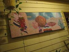 "Original Southwestern Painting On Canvas Gallery Wrap 72"" x 24"""