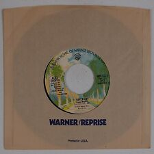 ALICE COOPER: Goes to Hell / I Never Cry USA WB 45 NM- Super