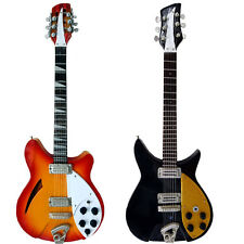Miniature Guitar Replica Set: Tom Petty and Mike Campbell (UK Seller)