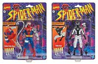 Marvel Legends Retro Collection Negative Zone And Cyborg Spider-Man. Target Exc