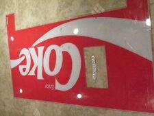 Vintage Coca Cola Soda Light Up Plexi Vending light up panel